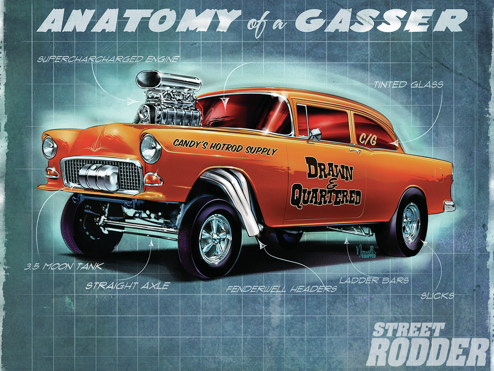 Anatomy Of A Gasser Hot Rod Network
