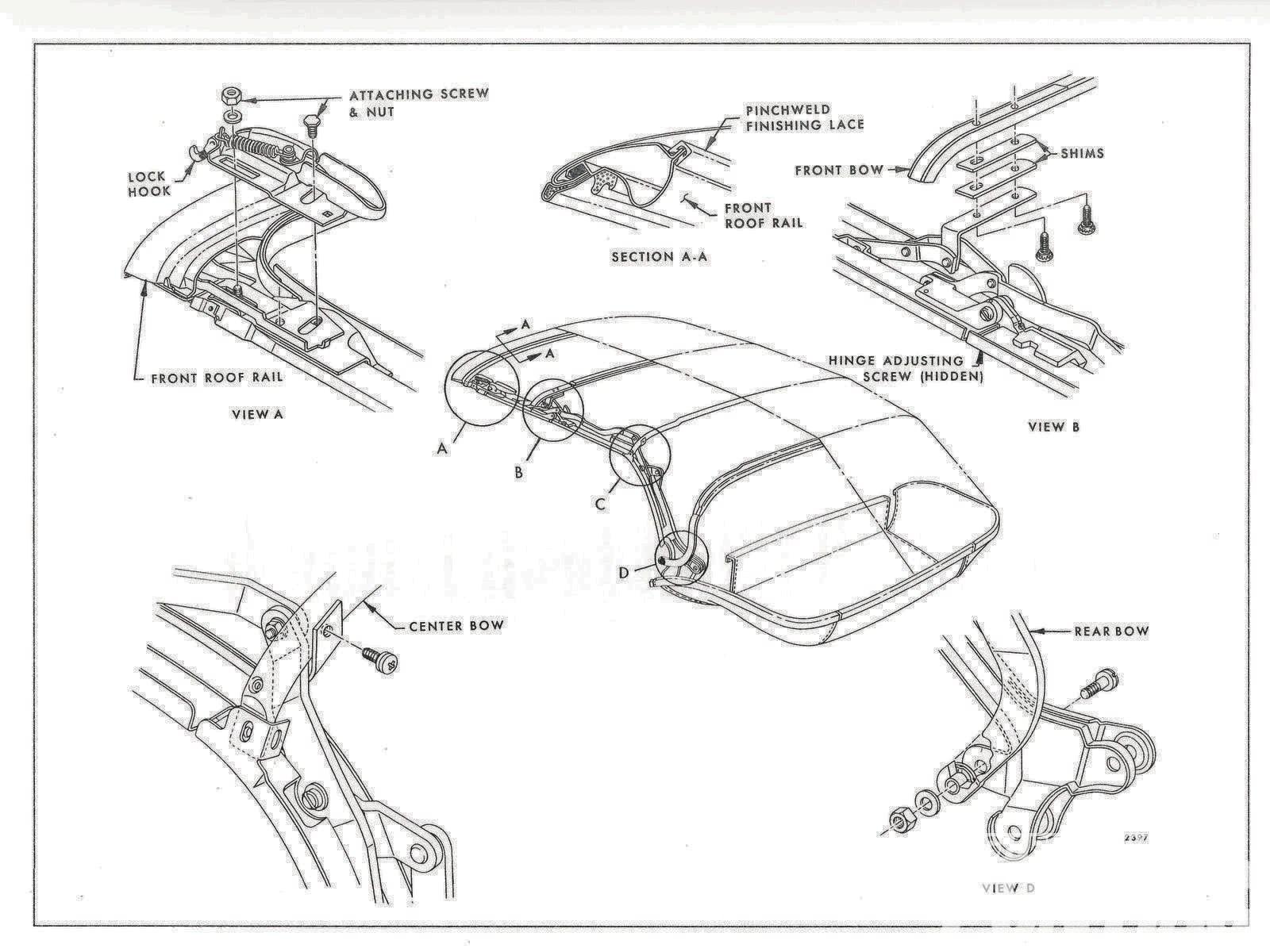 1968 camaro wiring diagram online 1999 bmw z3 stereo pontiac firebird top install hot rod network