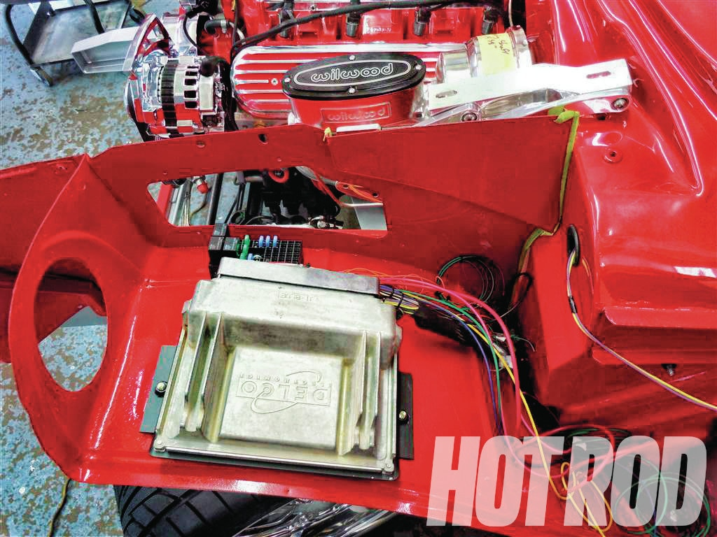 hight resolution of hrdp 1302 11 start to finish hot rod dynamics 1957 chevy ecm and