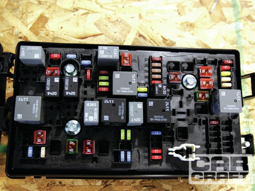medium resolution of ccrp 1303 20 chevy copo camaro engine fuse box