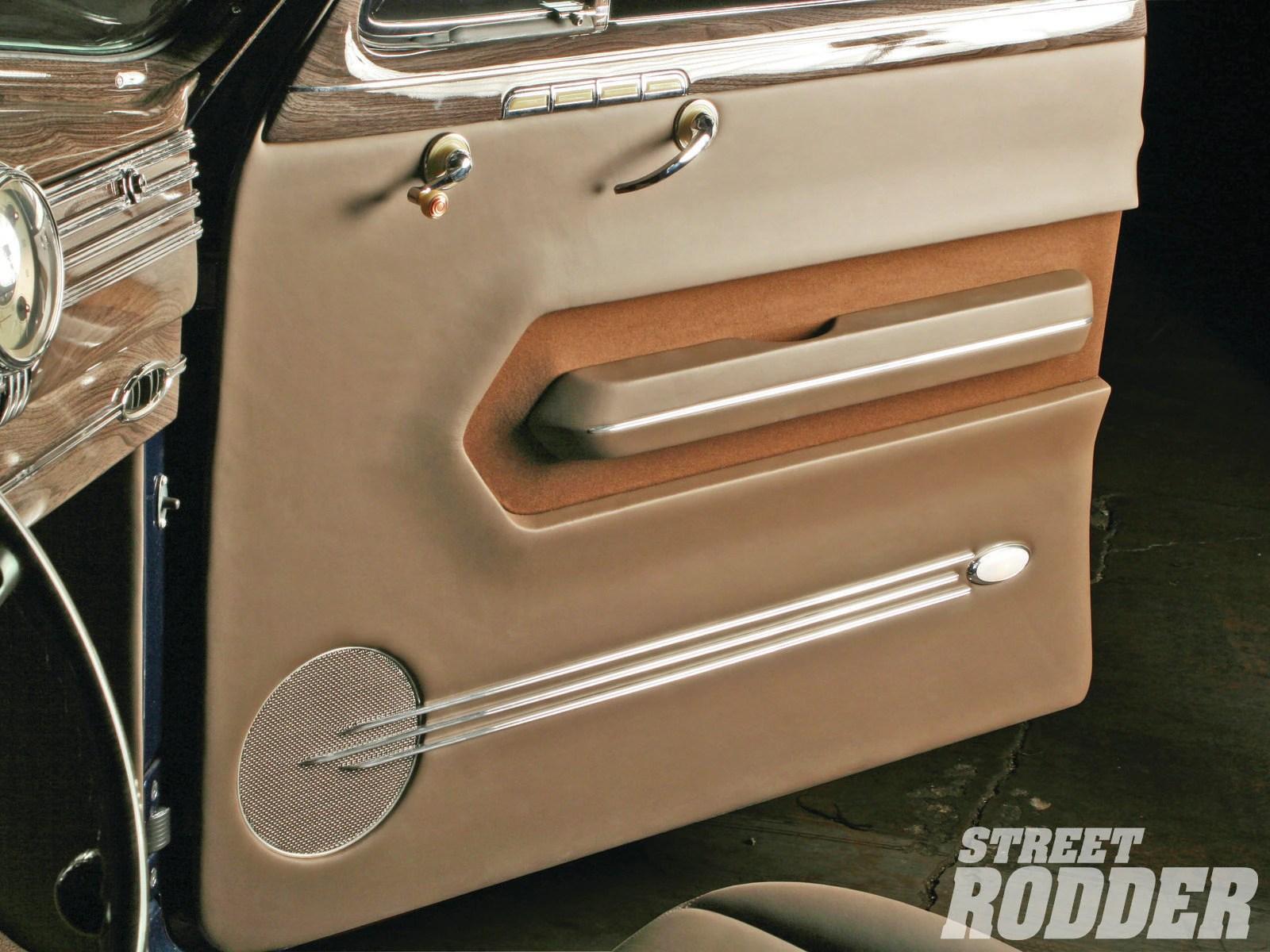 Rod Doors Panels & Door Panel Detail