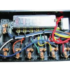 wrg 8679 hot rod fuse box street rod fuse box under hood [ 1600 x 1200 Pixel ]