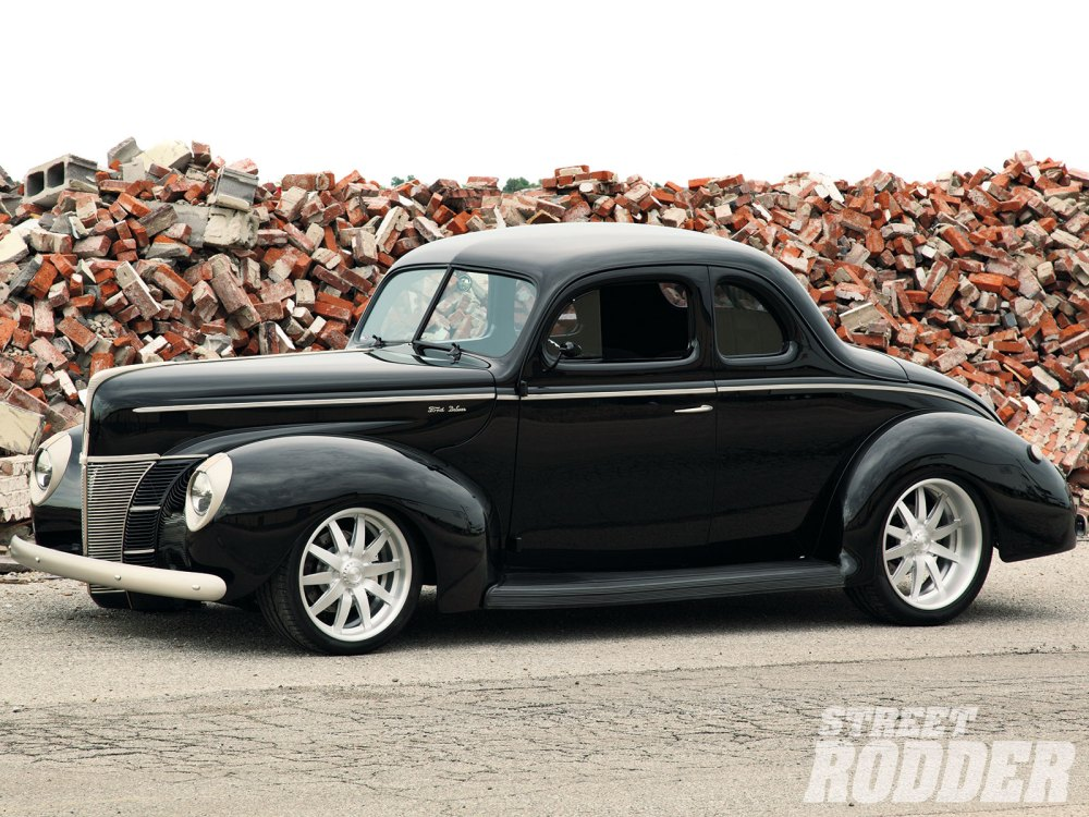 medium resolution of 1305 1940 ford deluxe coupe left side view