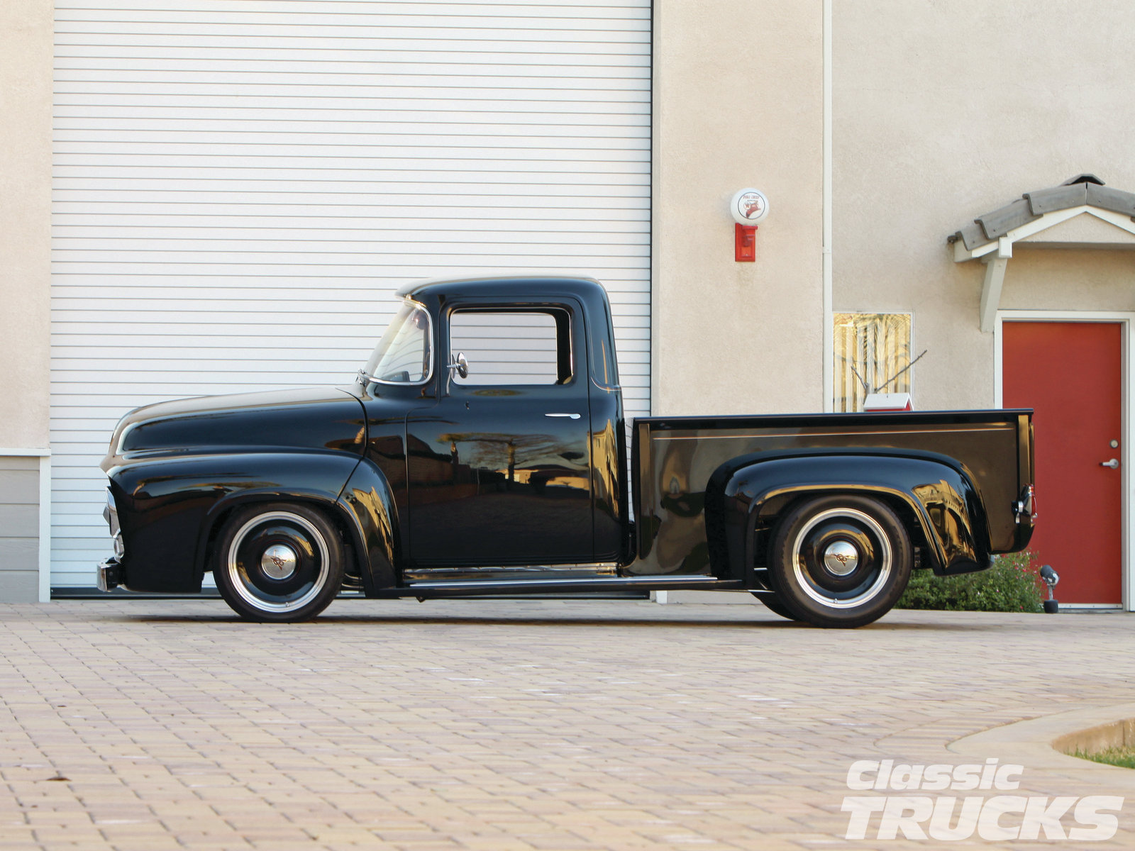 hight resolution of 56 ford f100 side profile