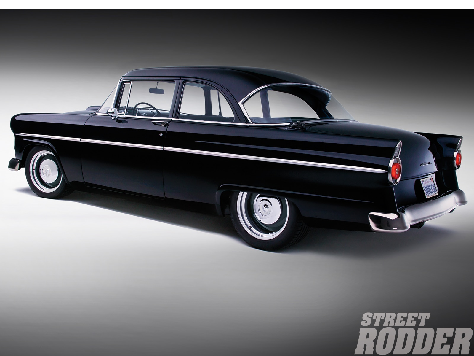 1955 Ford Coupe Suspension