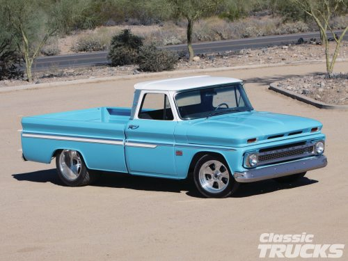 small resolution of 1966 chevy c10 front three quarter
