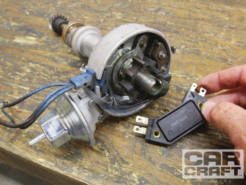 small resolution of ford duraspark magnetic pickup distributor