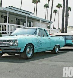 cool dude dunk loves to hit socal beaches in his 65 el camino camp [ 1500 x 1000 Pixel ]