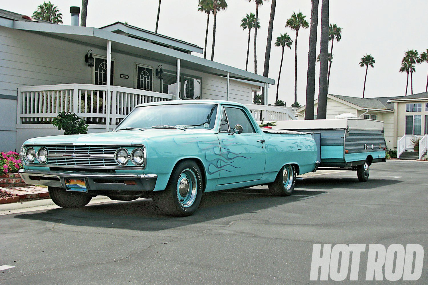 hight resolution of cool dude dunk loves to hit socal beaches in his 65 el camino camp