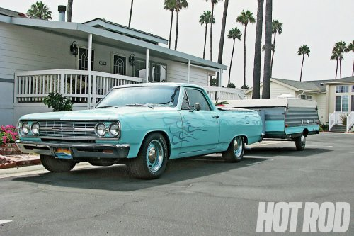 small resolution of cool dude dunk loves to hit socal beaches in his 65 el camino camp