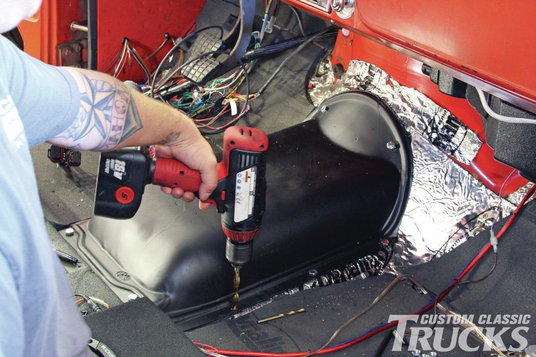 64 Chevy C10 Wiring Diagram 65 Truck Chevy C10 High Hump Pan Installation Hot Rod Network