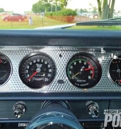 1964 pontiac gto field of dreams hot rod network 1969 road runner wiring diagram 1967 gto 1967 gto rally gauge  [ 1500 x 1000 Pixel ]