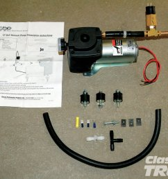 here is classic performance products auxiliary vacuum pump kit it includes everything you [ 1500 x 1000 Pixel ]