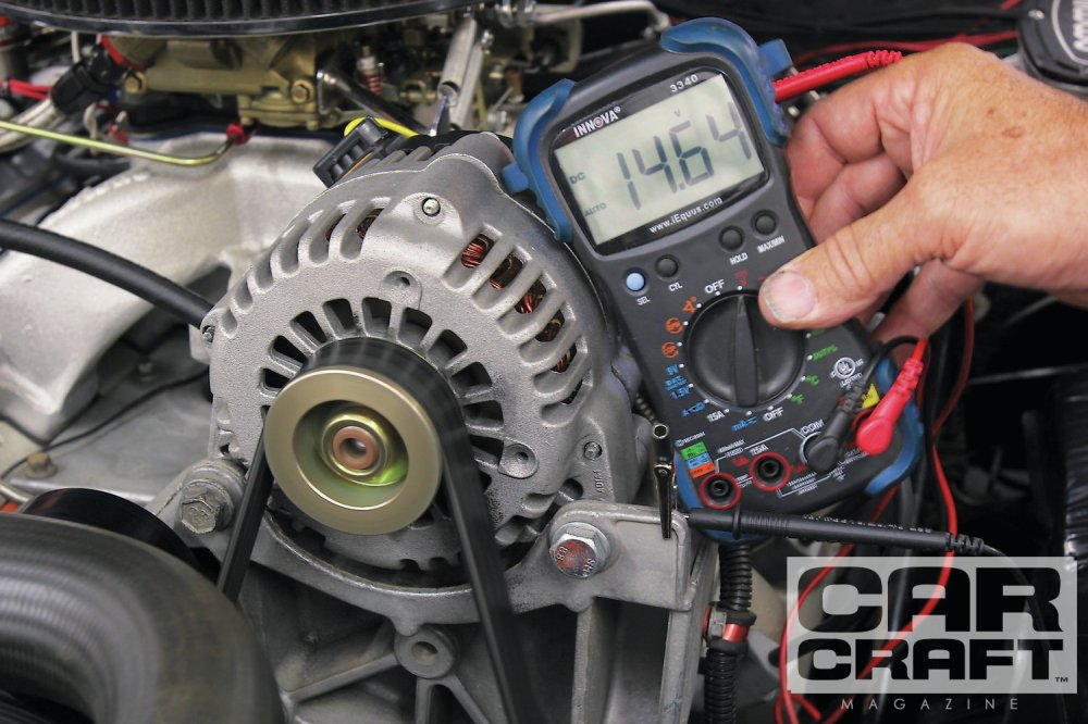 medium resolution of a late model gm alternator conversion like this cs130 can really pump up the charging