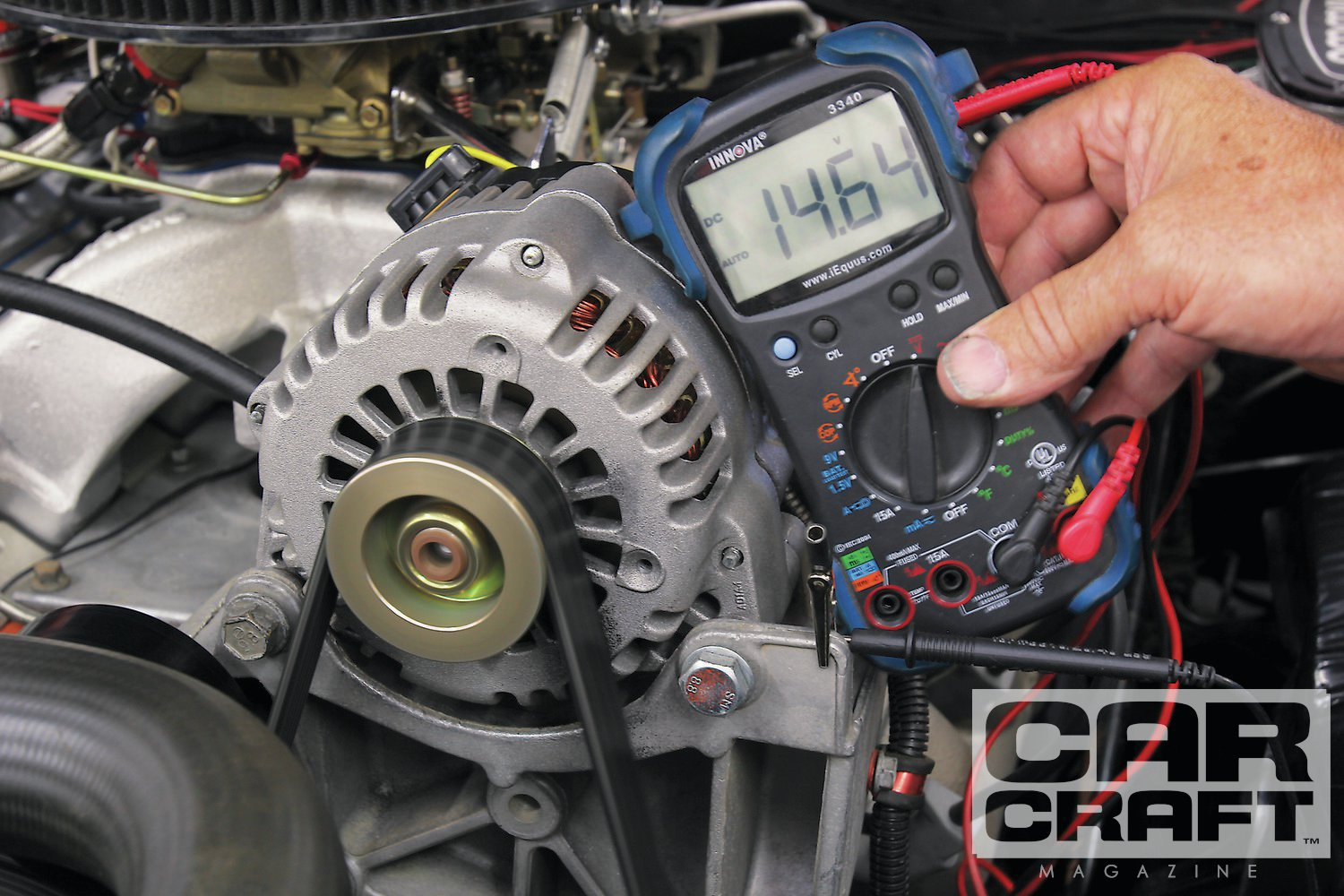 hight resolution of a late model gm alternator conversion like this cs130 can really pump up the charging