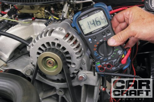 small resolution of a late model gm alternator conversion like this cs130 can really pump up the charging