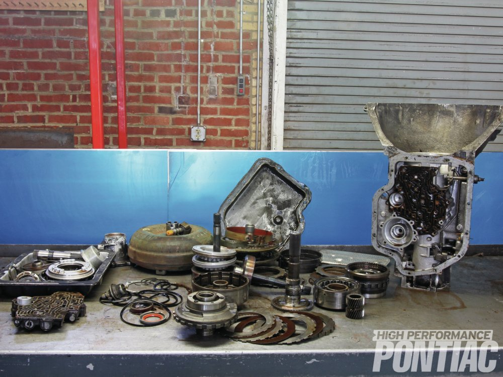 medium resolution of hpp sent gearstar a well used turbo 400 from a 68 pontiac for a