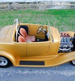 1932 chevy roadster top view [ 1500 x 1000 Pixel ]