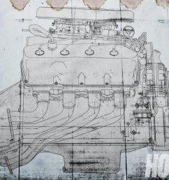 chrysler 426 hemi blueprint [ 1500 x 1000 Pixel ]