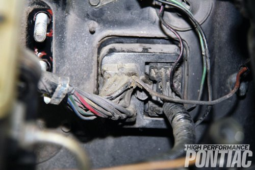 small resolution of how to install a reproduction wiring harness high performance pontiac hot rod network turn signal wiring