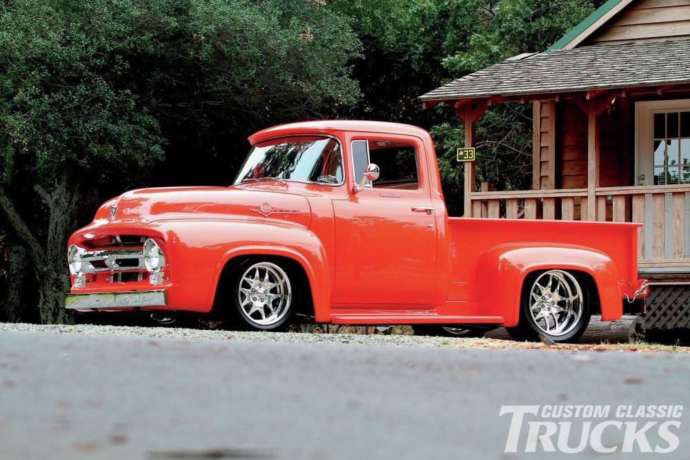 medium resolution of 1956 ford f 100 side profile