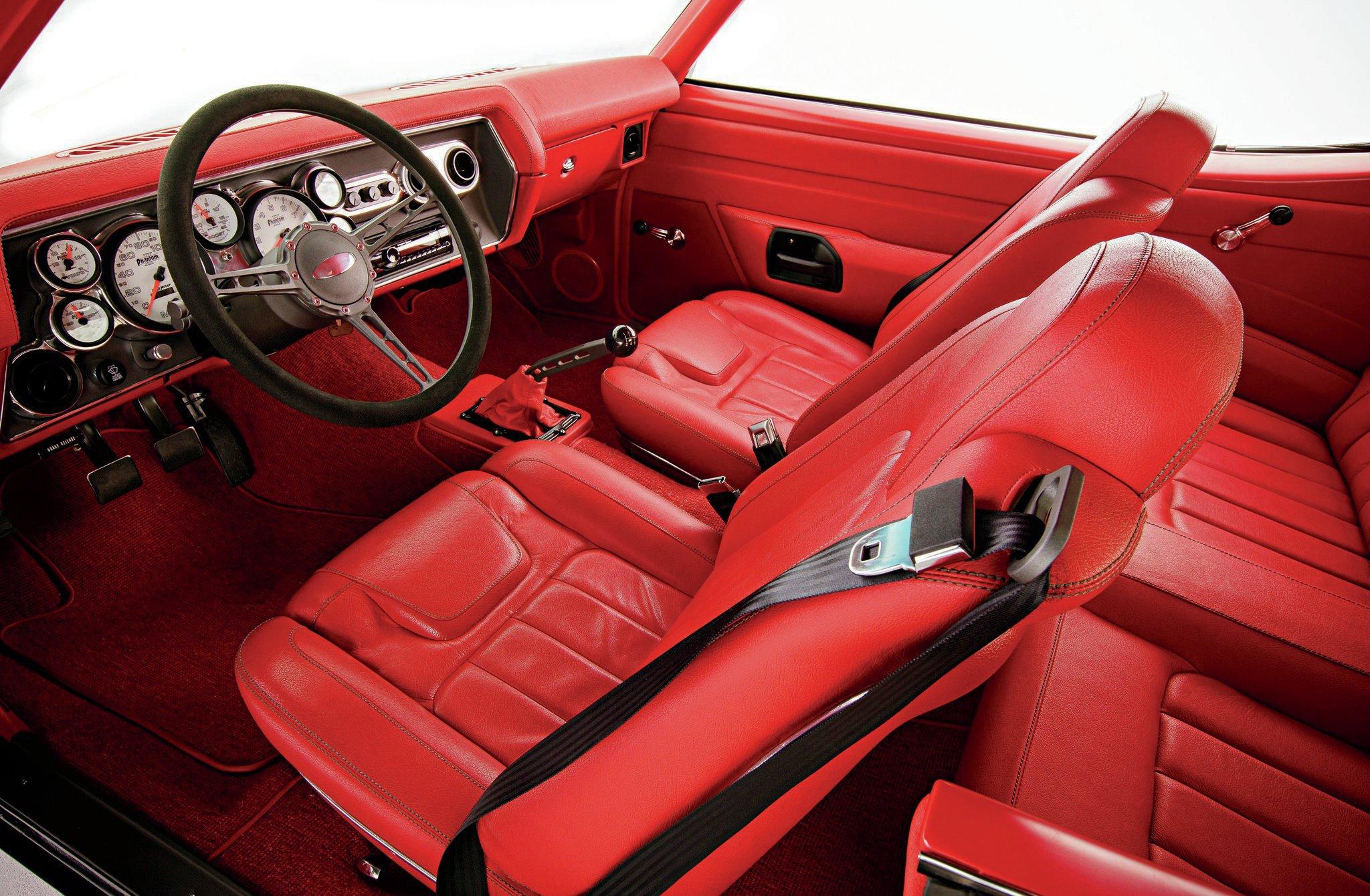 1970 Chevy Chevelle Seats