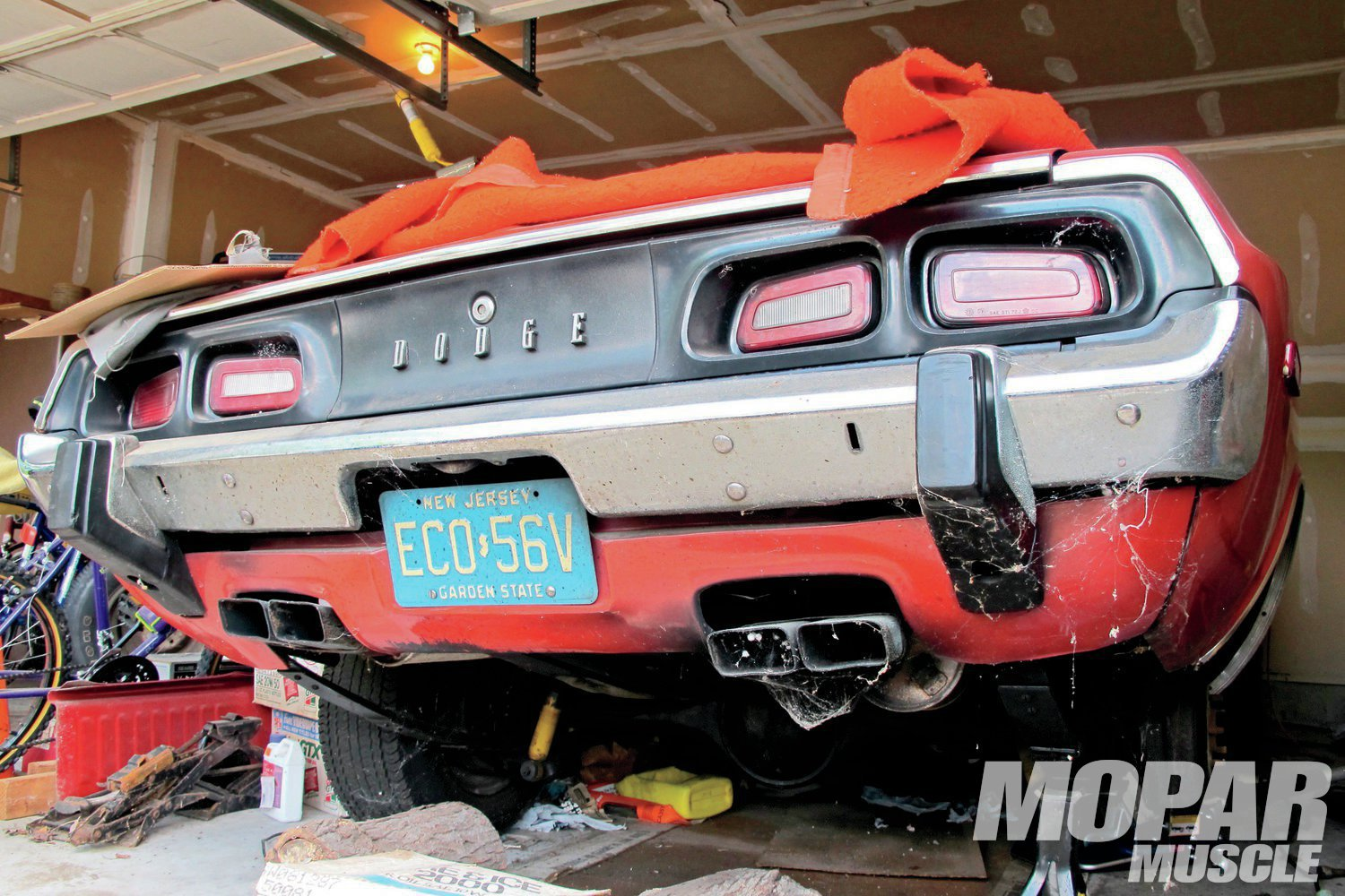 Refinishing The Tail End Of A 1973 Dodge Challenger