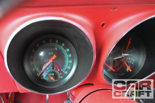 small resolution of the beauty of electronic speedometers is that you can get very creative with the layout