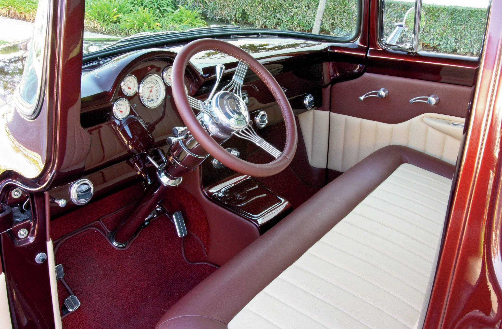 1956 Ford Interior Paint Colors
