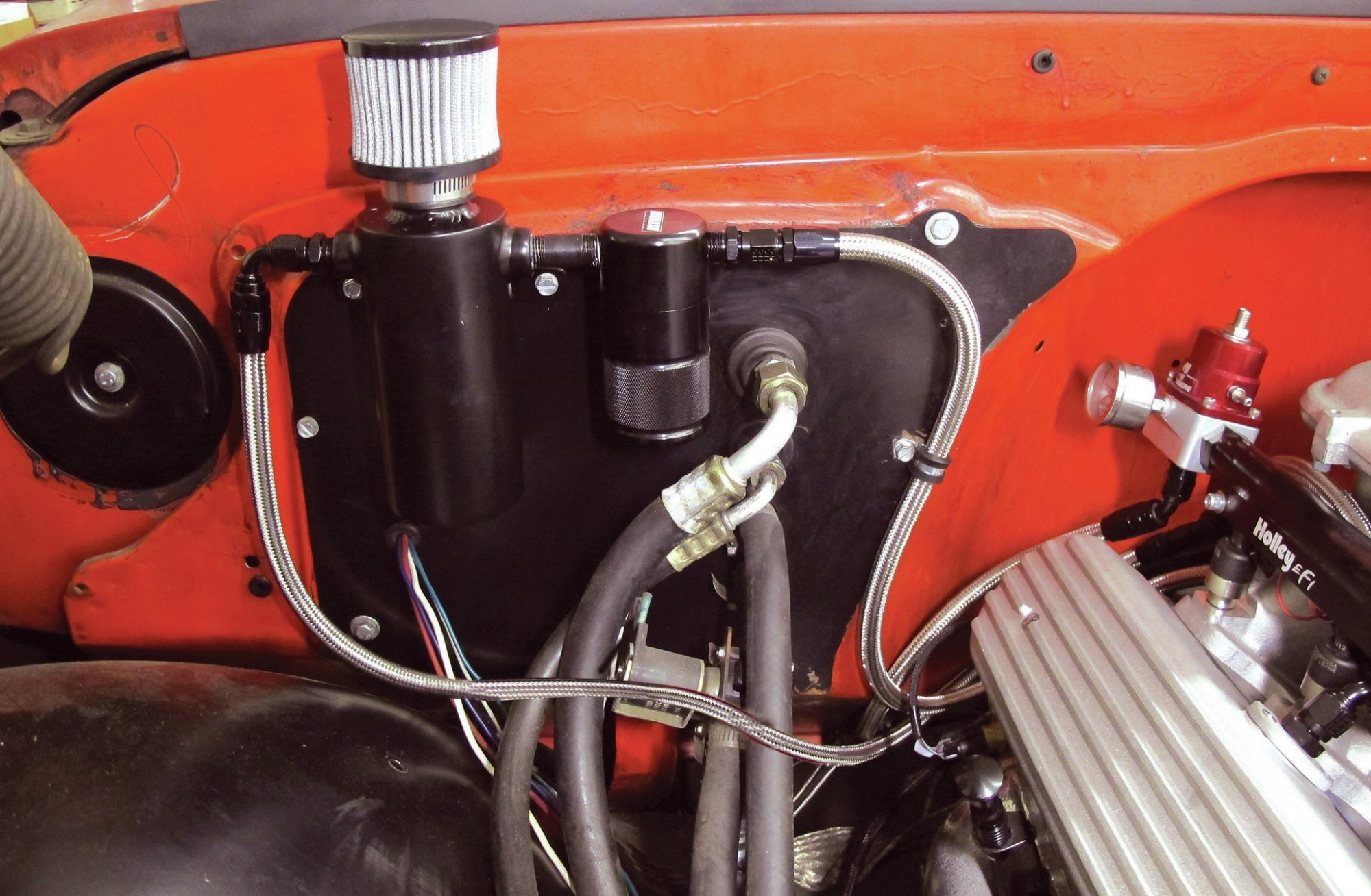 hight resolution of engine venting