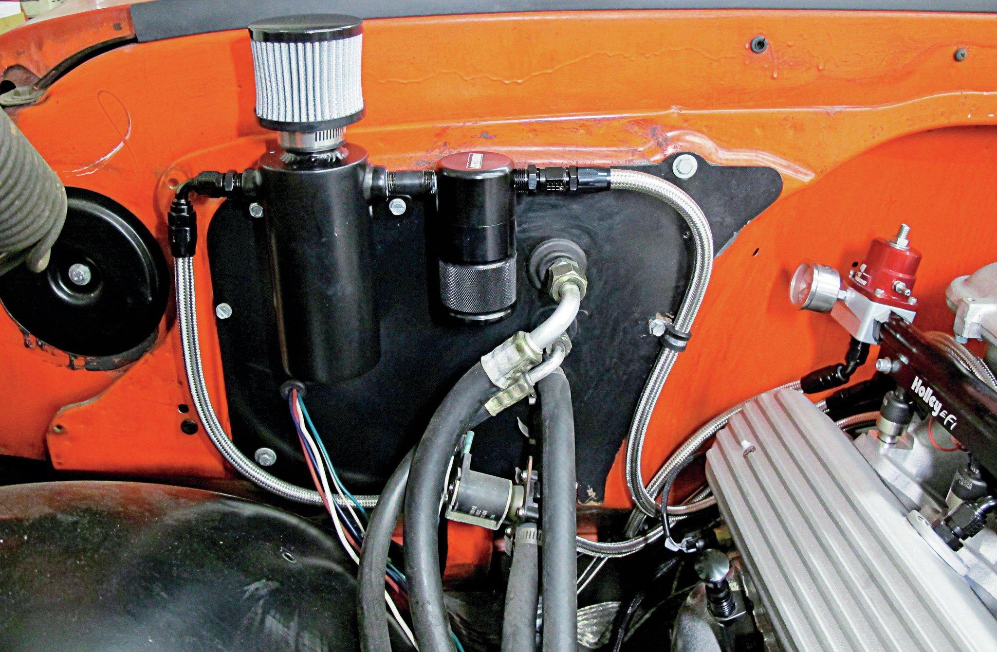 302 V8 Ford Engine Diagram Venting To Cure Crankshaft Pressure Hot Rod Network