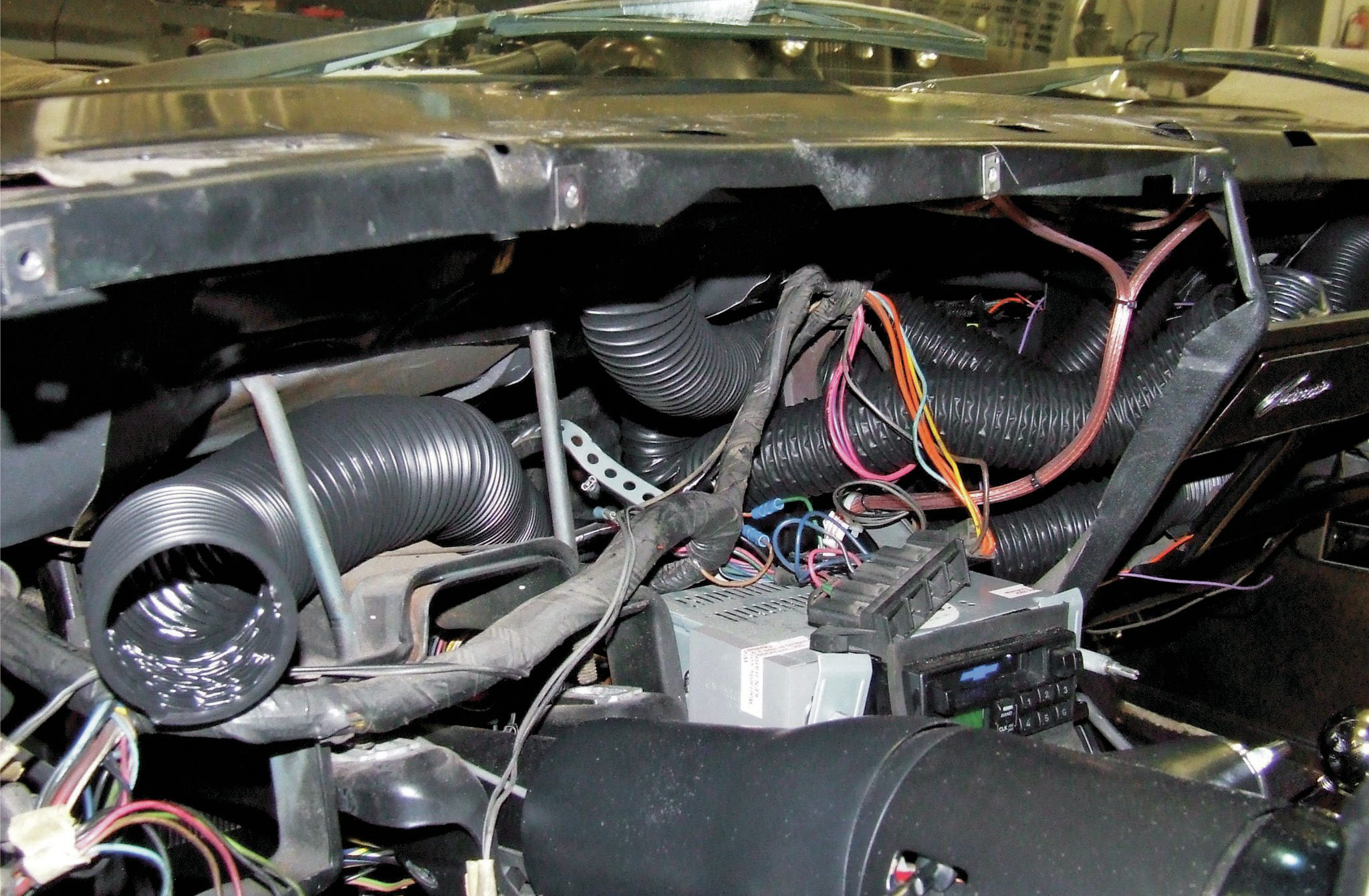 American Wiring Diagram 1972 Chevelle Installing Air Conditioning In Your Muscle Car Hot Rod