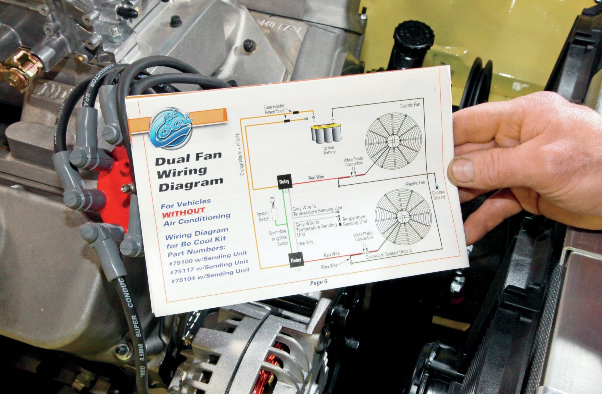 hight resolution of hayden automotive 3653 economy adjustable thermostatic fan controlhot rod electric fan wiring diagram library