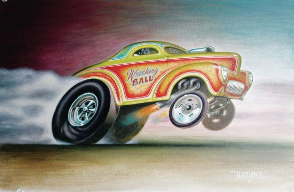 Keith Weesner - Lowbrow High Art Hot Rod Network