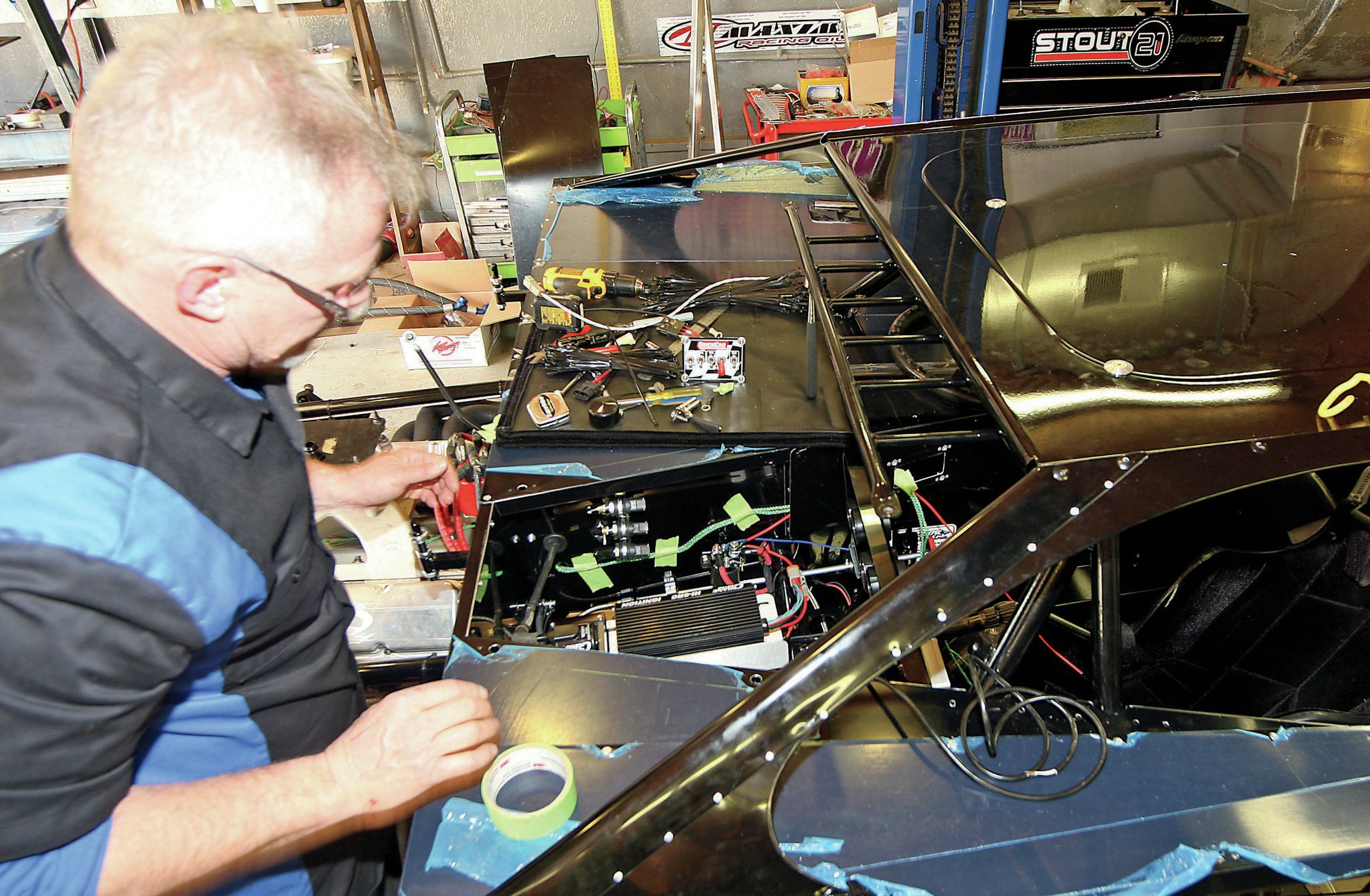 drag race car wiring diagram fitfathers sub panel garage how to wire your own hot rod network
