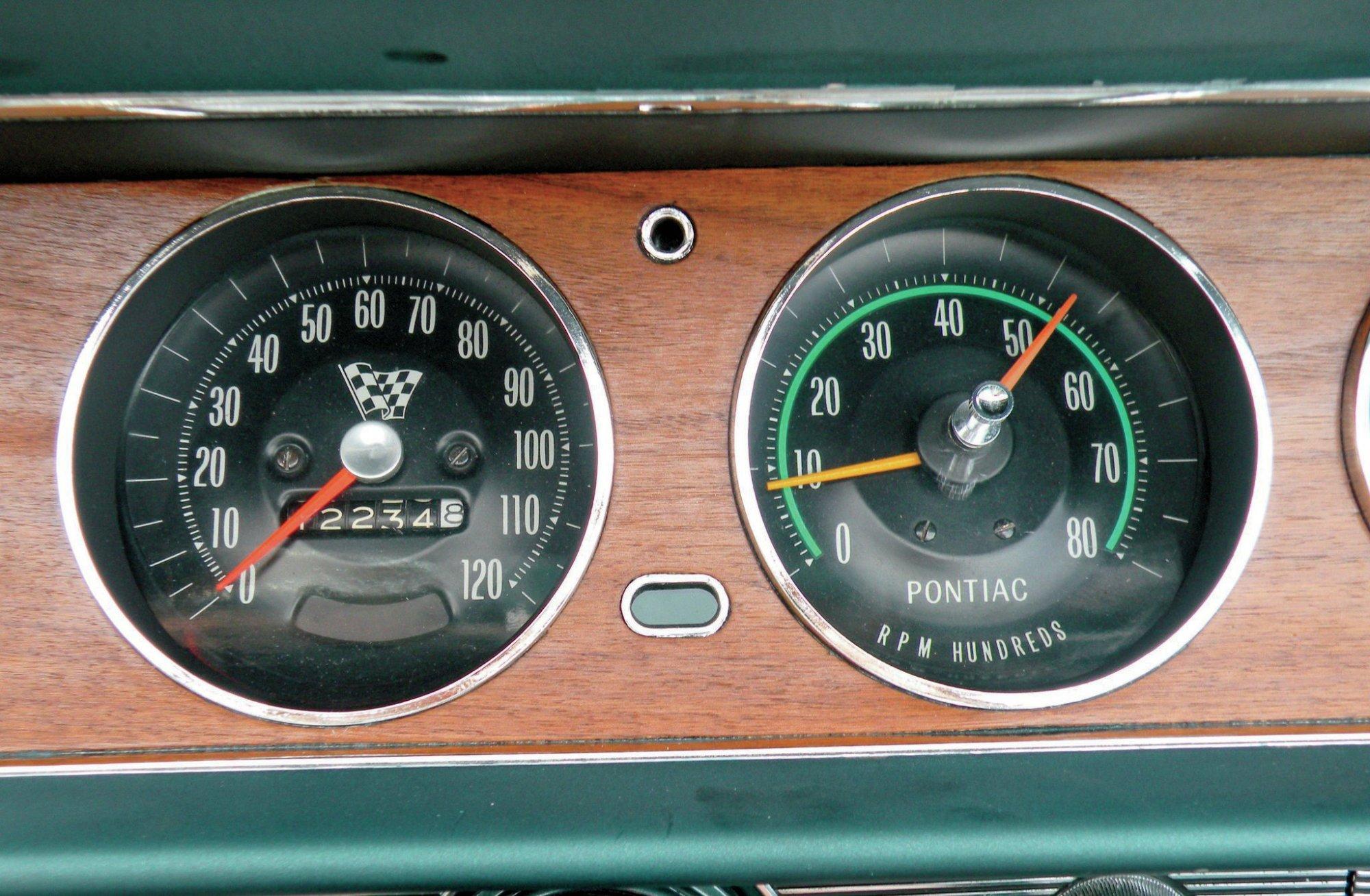 hight resolution of repairing a 1965 1967 gto tach hot rod network pontiac grand prix wiring diagrams 1965 pontiac 1965 pontiac gto rally gauge