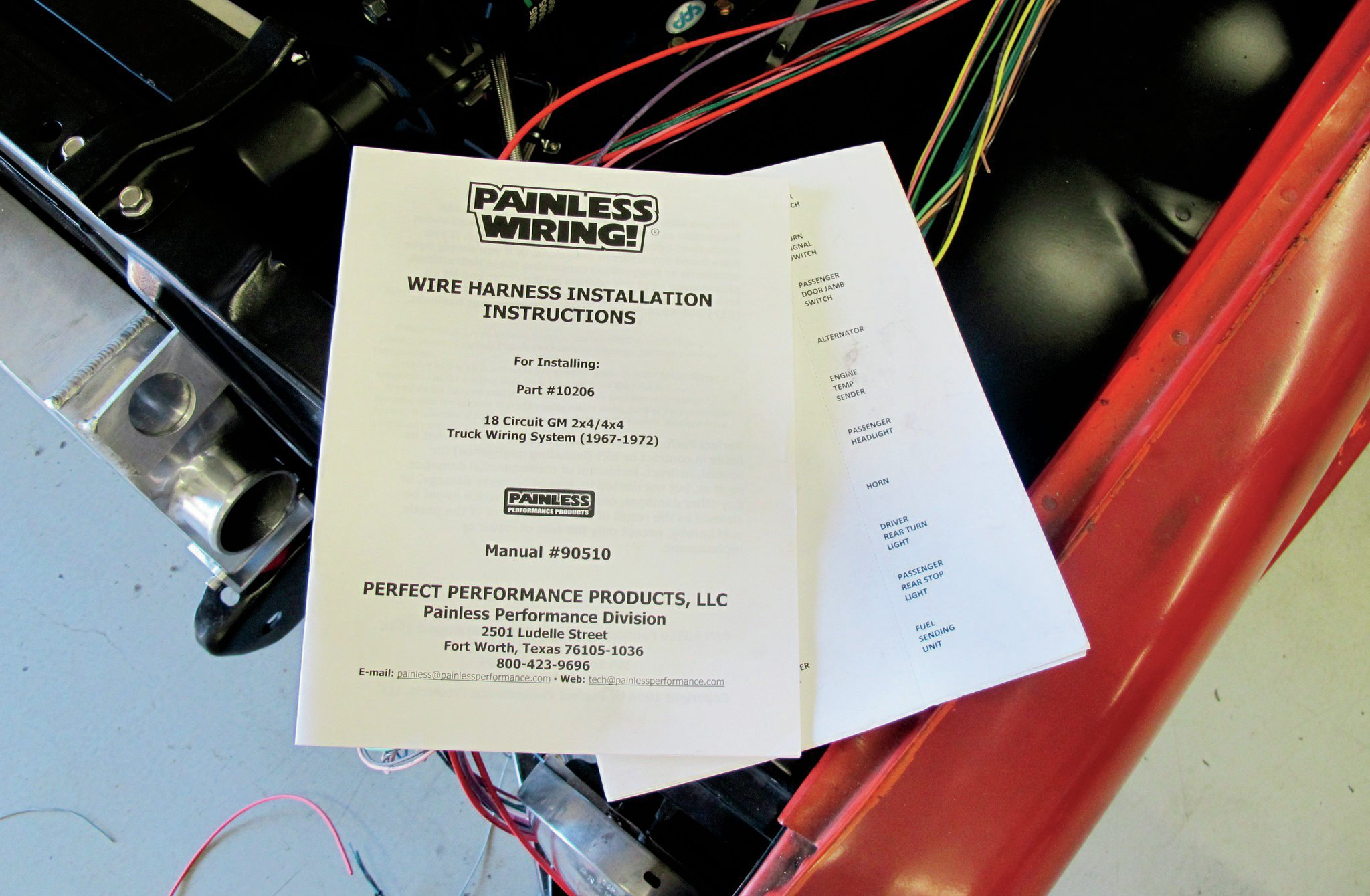 Painless Wiring Instructions
