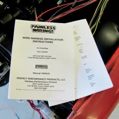 Painless Wiring Installation Instructions 1982 Suzuki Gs550 Diagram Performance Products A Taste Of Today 39s