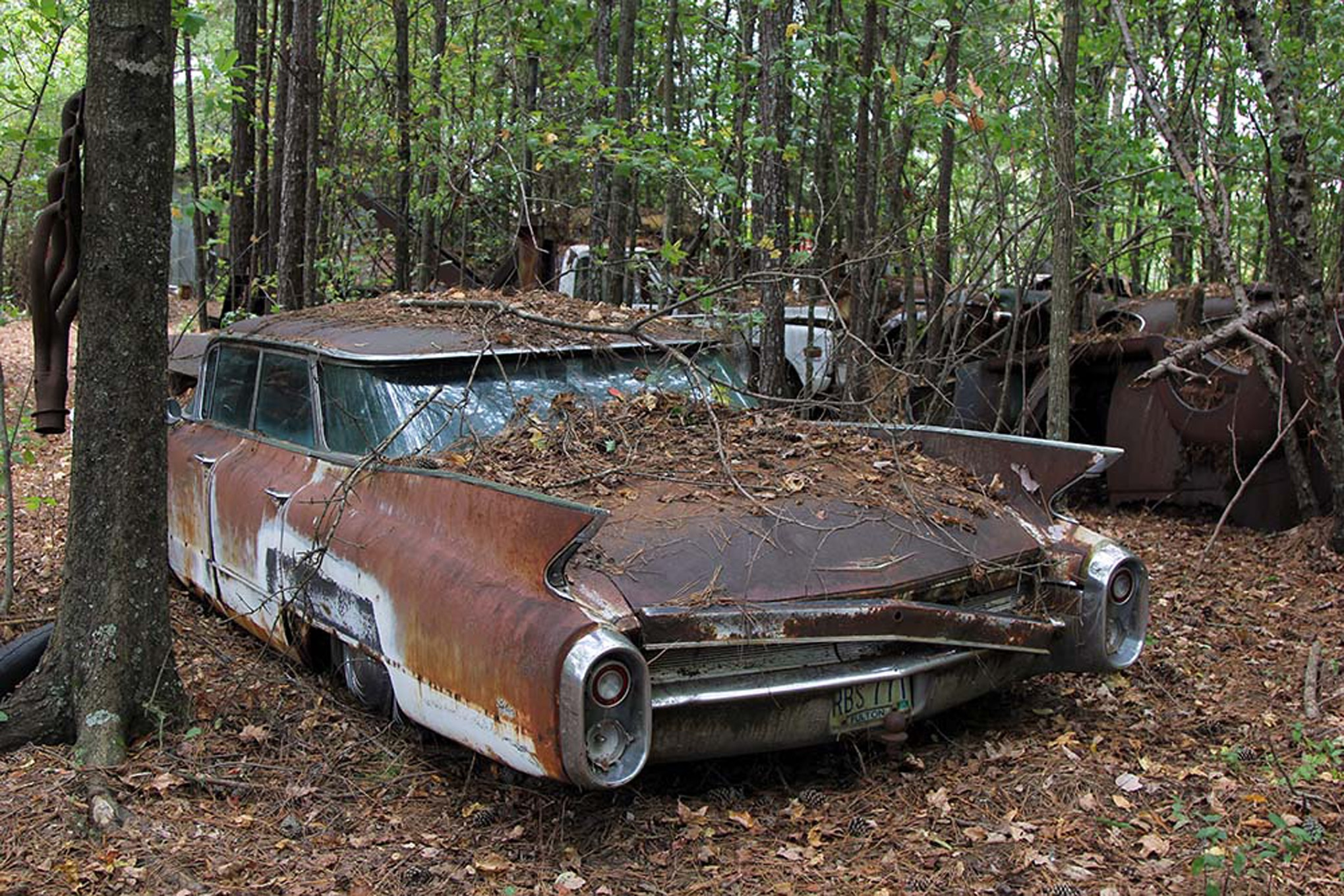 Old Car City Usa Is Full Of Abandoned Muscle Cars And