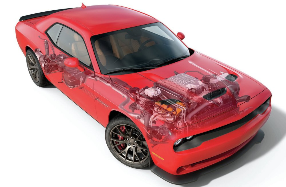 medium resolution of so far the challenger srt8 is the only car available with the supercharged hellcat option
