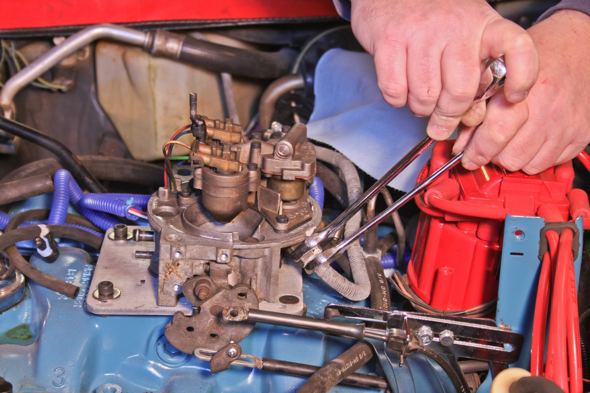 hight resolution of a homemade tbi conversion for 904 hot rod network rh hotrod com diy tbi wiring harness