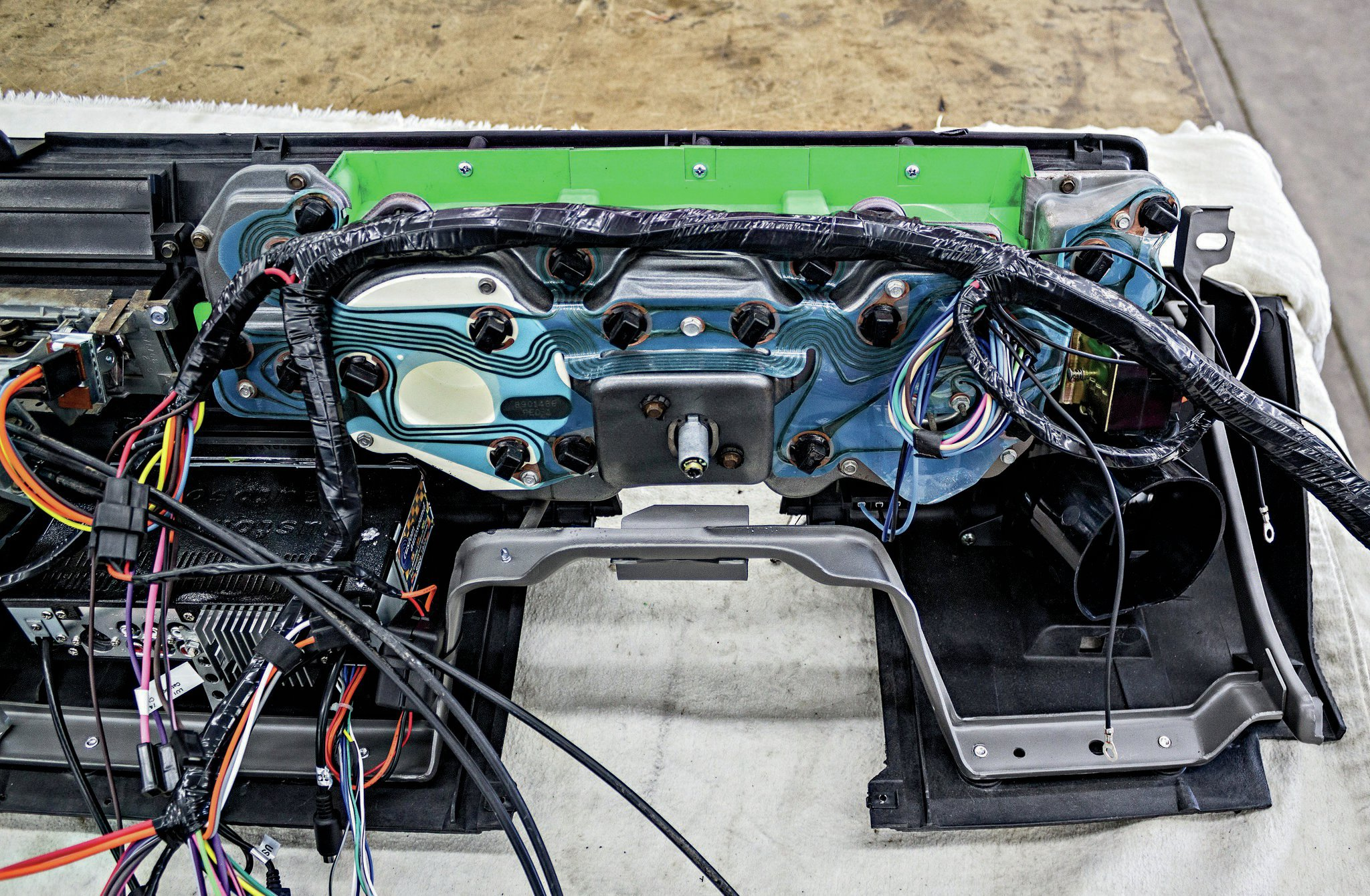 cluster wiring harness