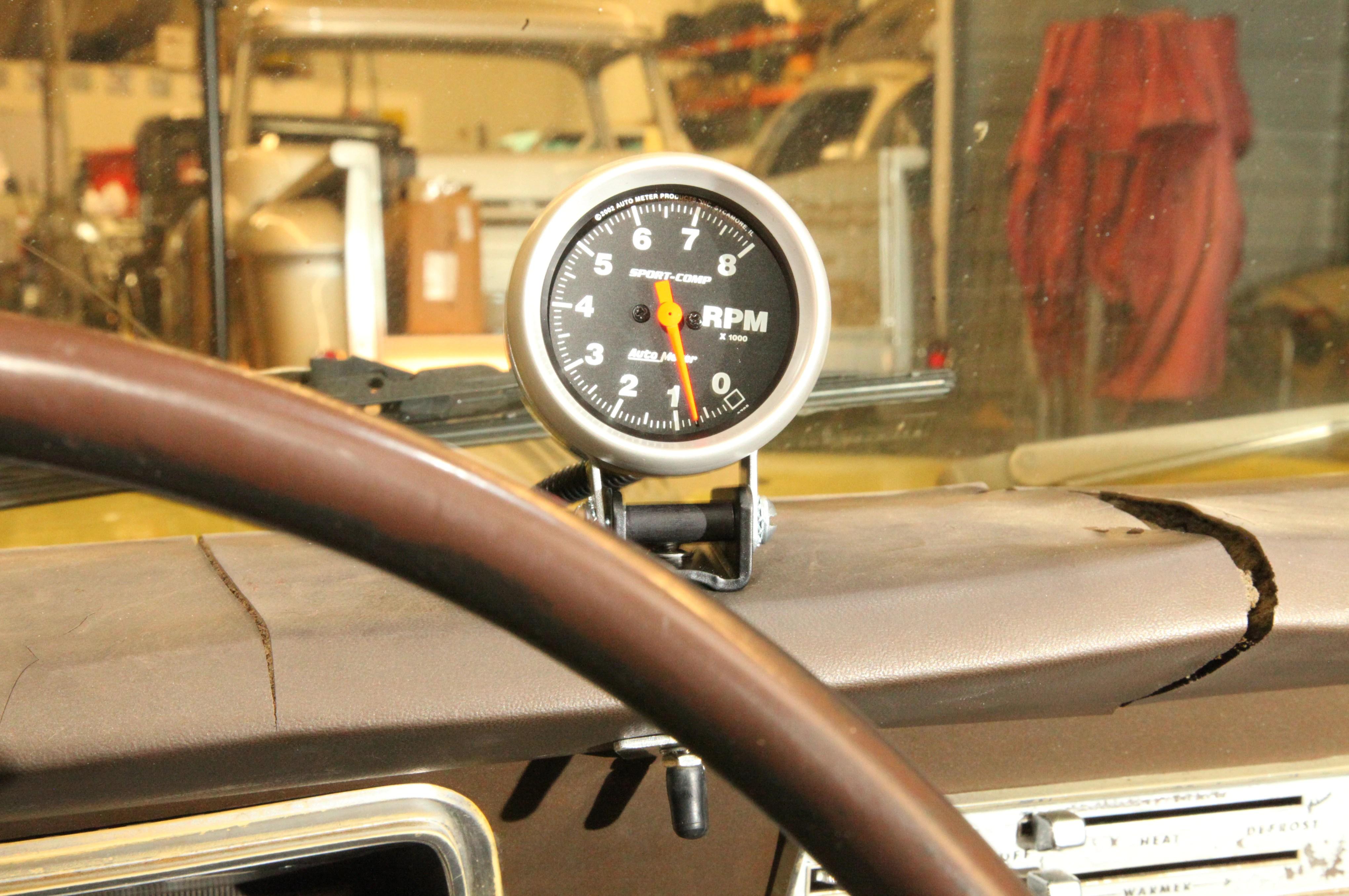 Auto Meter Tachometer