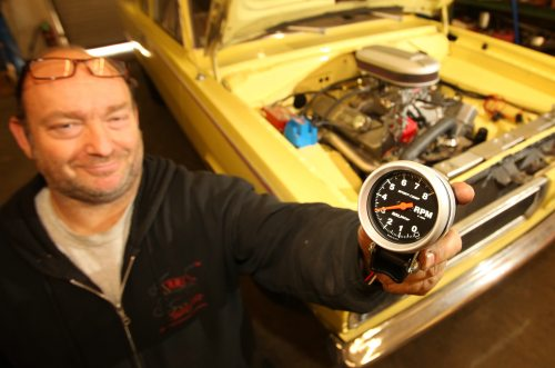 small resolution of auto meter tachometer tach it on