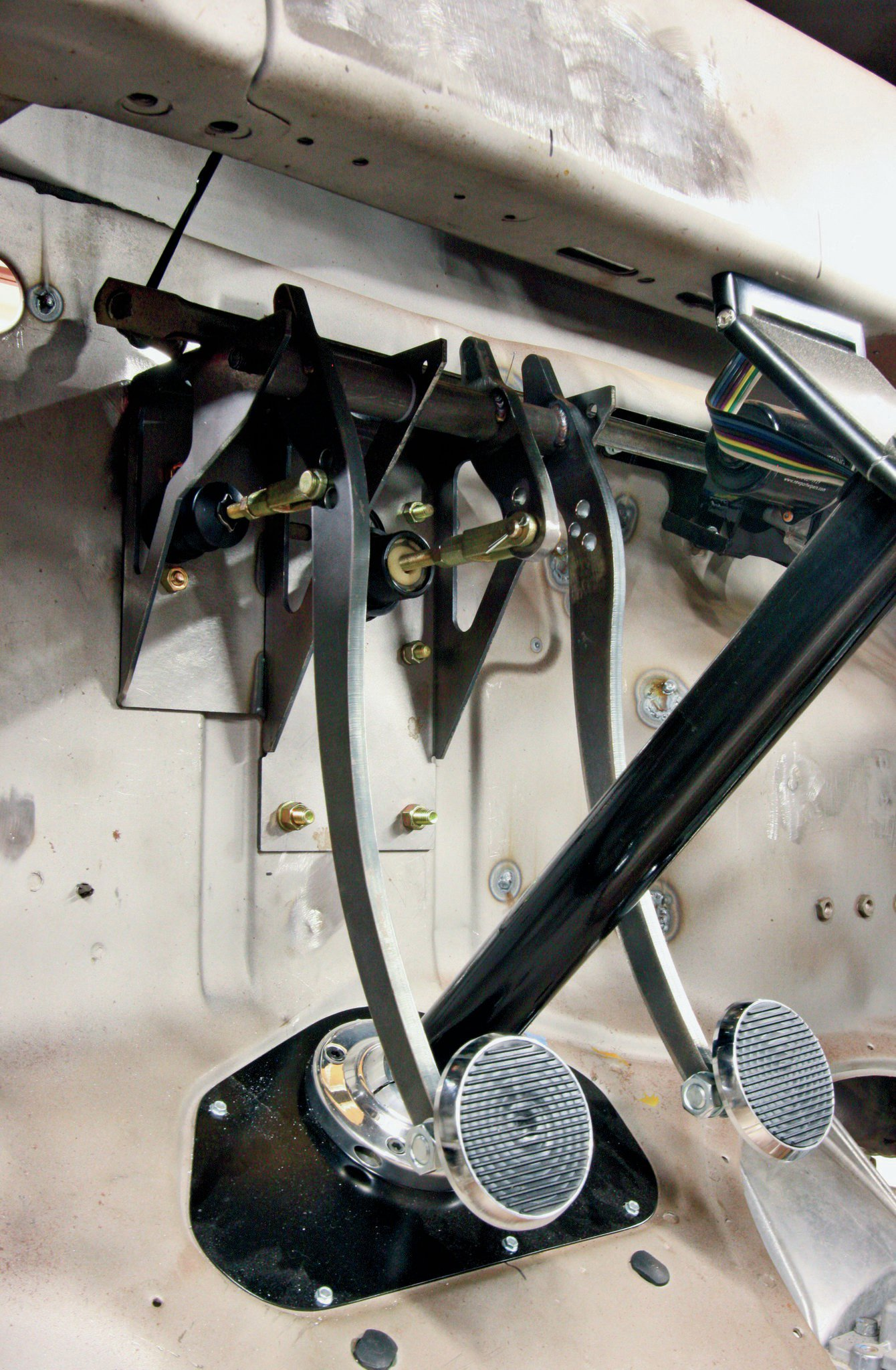 Adding Power Brakes To A Ford F 100 Firewall Hot Rod Network