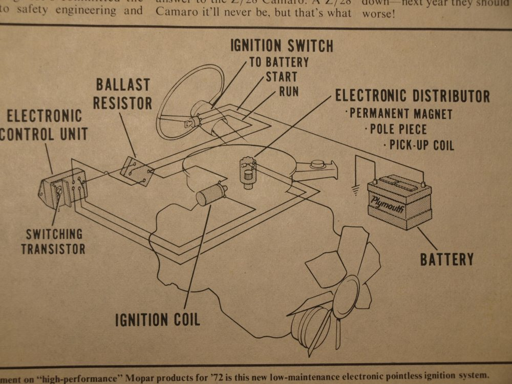 medium resolution of early electronic ignition system diagram for wiring a tachometer early chrysler electronic ignition system wiring diagram