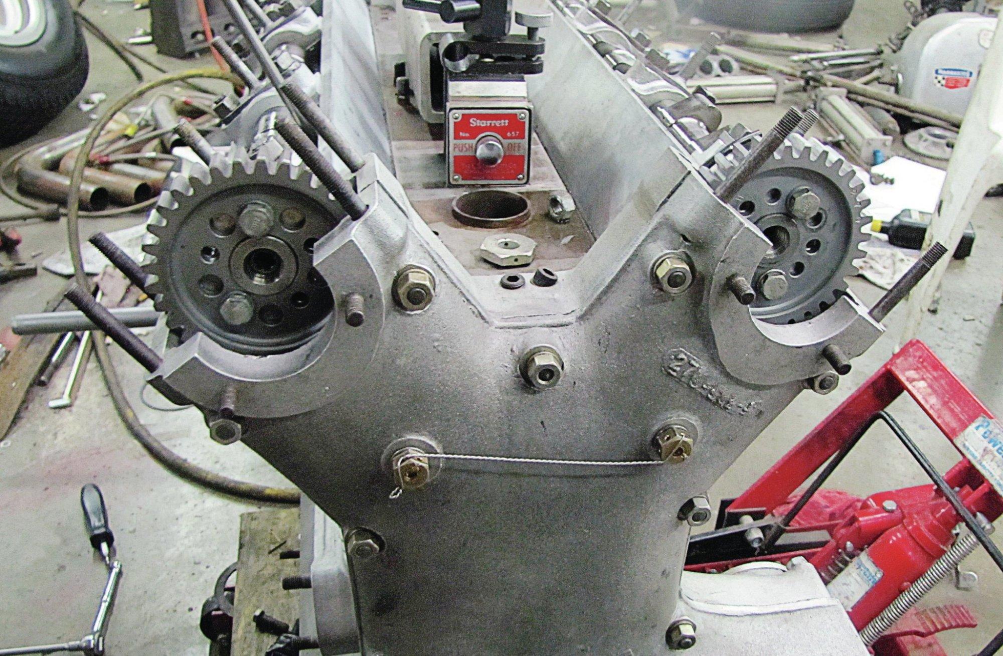 hight resolution of assembling a 270ci offenhauser indycar engine step by step hot rh hotrod com overhead valve engine