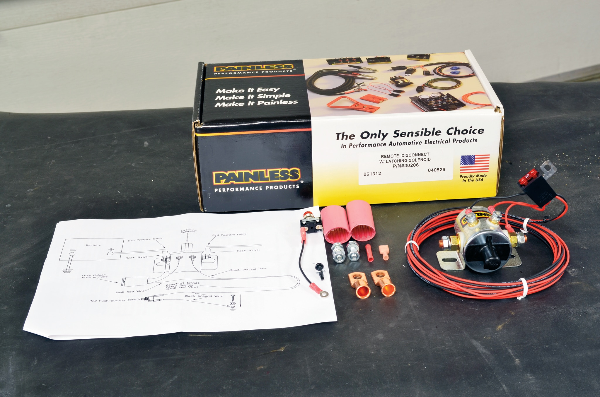 Painless 30206 Remote Battery Master Disconnect Switch