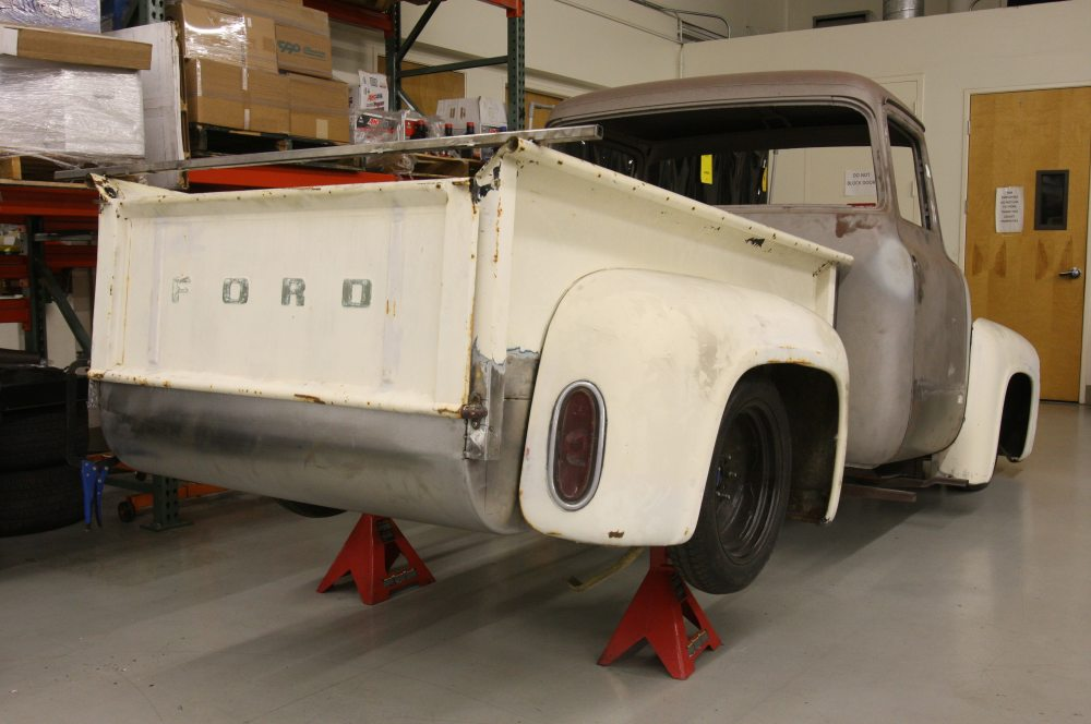 medium resolution of 1956 ford f 100 rear view