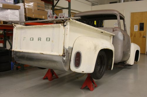 small resolution of 1956 ford f 100 rear view